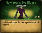 New Year's Eve Blouse