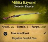 Militia Bayonet