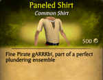 Paneled Shirt - clearer