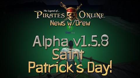 TLOPO News w Drew - Alpha Update 1.5.7 - St. Patrick's Day!