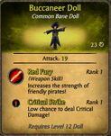 Buccaneer Doll