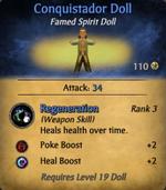 Conquistador Doll - clearer