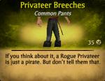 Privateer Breeches
