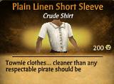 Plain Linen Short Sleeve