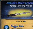 Assassin's Throwing Knives