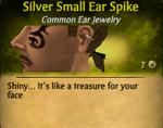 SilverSmallEarSpike