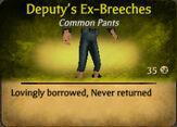 Deputy's Ex-Breeches