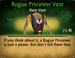Rogue Privateer Vest