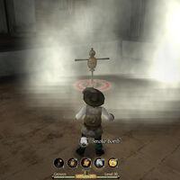 Grenade smoke bomb