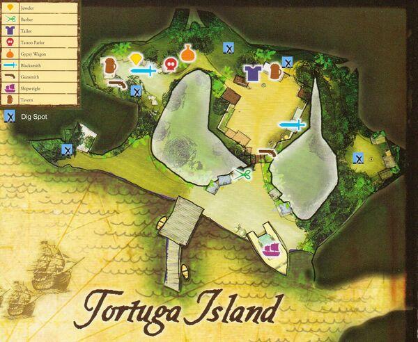 Tortuga Map