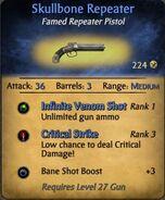Skullbone repeator pistol
