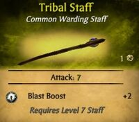 Tribal Staff