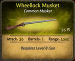 Wheellock Musket 2010-11-20