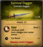 Survivaldagger
