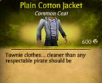 Plain Cotton Jacket2