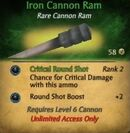 Iron Cannon Ram