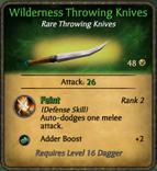 WildernessThrowingKnives