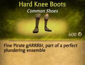 Hard Knee Boots