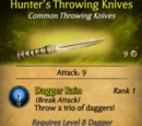 Hunter's Throwing Knives