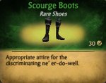 Scourgeboots