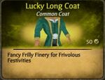 Lucky Long Coat