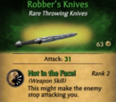 Robber's Knives