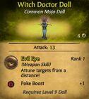 WitchDoctorDoll