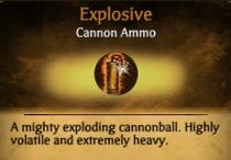 Explosive info card