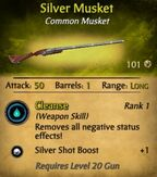 Silver Musket