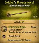 Soldier's Broadsword