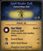 Spell-Binder-Doll