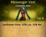 F Messenger Vest
