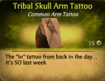 TribalSkullTat