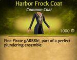 F Harbor Frock Coat