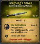 Scallywag's Knives