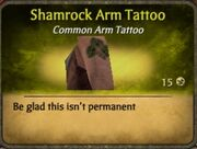 Shamrock Arm Tattoo (2)