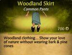 F Woodland Skirt