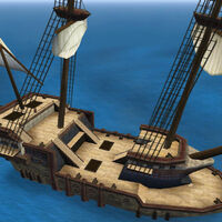 War Frigate deck