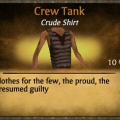 Brown Crew Tank