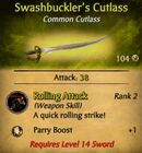 Swashbuckler's Cutlass1