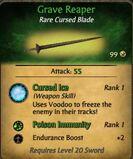 Grave Reaper sabre
