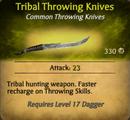 Tribal Knives - clearer