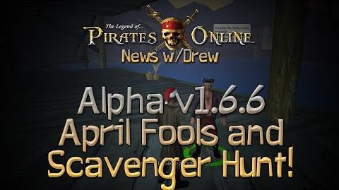 TLOPO News w Drew Alpha v1.6.6 - April Fools Day & Scavenger Hunt!