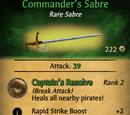 Commander's Sabre