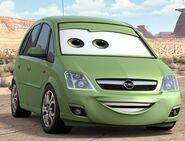 Opel pixarcars meriva