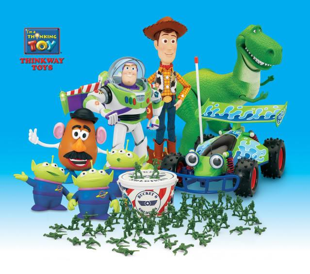 Thinkway Toys Pixar Wiki Fandom Powered By Wikia