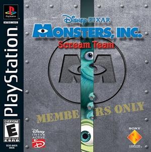 File:Monsters, Inc Scream Team cover.jpg