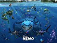 Finding nemo, by disney, 2003, cartoons