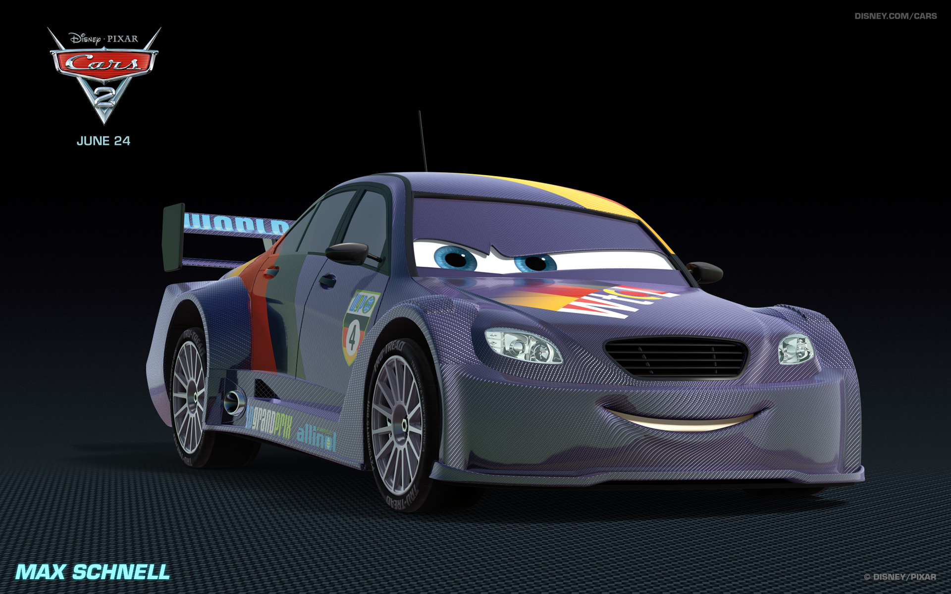 max schnell cars 2 movie characters names and pictures - Cars The Movie 2 Characters