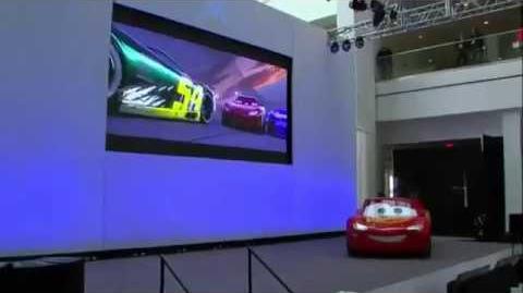 Cars 3 - Lightning McQueen Crash